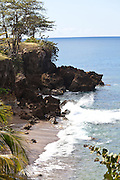 Deadman's break in Rincon, Puerto Rico.