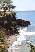Deadman's break in Rincon, Puerto Rico.