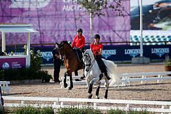 Aerne Anna-Mengia, SUI, Raffaello va Bene<br /> Training dressage<br /> European Championships Göteborg 2017<br /> © Hippo Foto - Stefan Lafrenz