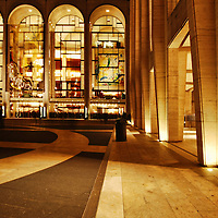Nightshot of Lincoln Center, Manhattan, New York City.