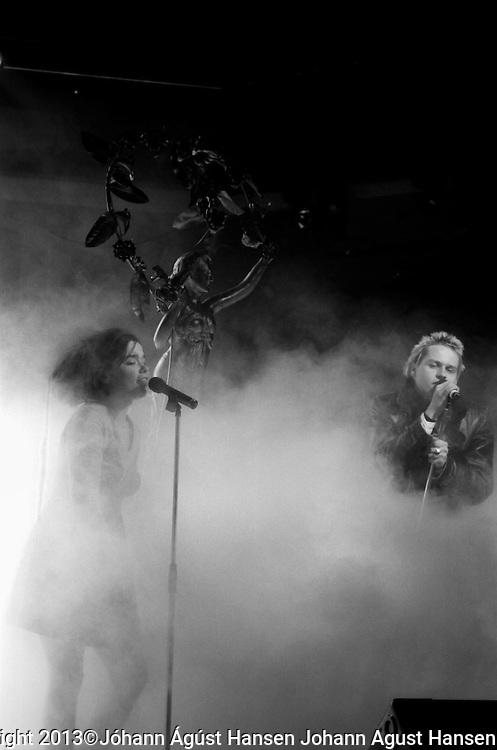Sykurmolarnir &aacute; t&oacute;nleikum / Sugarcubes in concert ///2013&copy;J&oacute;hann &Aacute;g&uacute;st Hansen Divinity revisited<br /> The Sugarcubes in Concert in Iceland 1988.