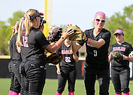 April 8, 2016: The St. Edward's University Hilltoppers play against the Oklahoma Christian University Lady Eagles at Tom Heath Field at Lawson Plaza on the campus of Oklahoma Christian University.
