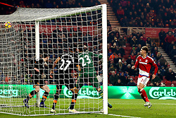 Gaston Ramirez of Middlesbrough scores a goal - Mandatory by-line: Robbie Stephenson/JMP - 05/12/2016 - FOOTBALL - Riverside Stadium - Middlesbrough, England - Middlesbrough v Hull City - Premier League