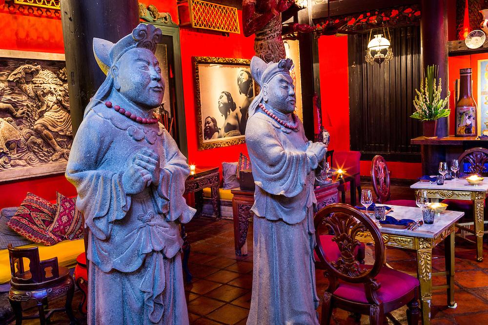 Ji, a Japanese Fusion Restaurant at Tugu Hotel Bali.