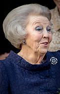 Apeldoorn , 22-03-2017 <br /> <br /> Exhibition of Hats of Queen Beatrix opened by Princess Beatrix at The Loo Palace.<br /> An exhibition with 111 hats.<br /> <br /> <br /> <br /> COPYRIGHT: ROYALPORTRAITS EUROPE/ BERNARD RUEBSAMEN
