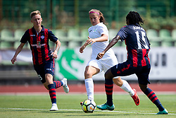 Ana Milovic of ZNK Olimpija Ljubljana during football match between FC Minsk and ZNK Olimpija Ljubljana in 2nd Qualifying Group of UEFA Women's Champions League 2018/19, on August 7, 2018 in Stadion ZAK, Ljubljana, Slovenia. Photo by Urban Urbanc / Sportida