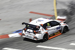 June 23, 2018 - Vila Real, Vila Real, Portugal - Mato Homola from Slovakia in PEUGEOT 308TCR of DG Sport Competition in action during the Race 1 of FIA WTCR 2018 World Touring Car Cup Race of Portugal, Vila Real, June 23, 2018. (Credit Image: © Dpi/NurPhoto via ZUMA Press)