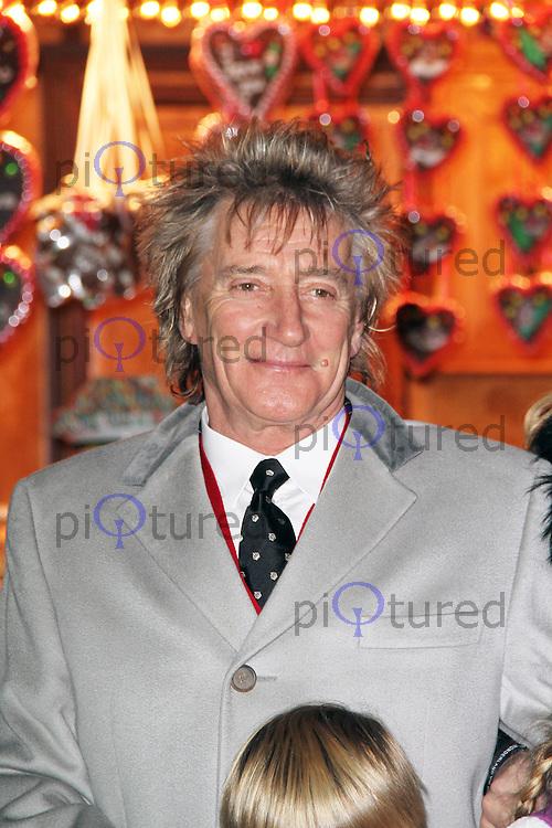 LONDON - NOVEMBER 22: Rod Stewart attended the opening night of 'Hyde Park Winter Wonderland' in Hyde Park, London, UK. November 22, 2012. (Photo by Richard Goldschmidt)