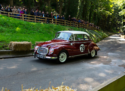 Boness Revival hillclimb motorsport event in Boness, Scotland, UK. The 2019 Bo'ness Revival Classic and Hillclimb, Scotland's first purpose-built motorsport venue, it marked 60 years since double Formula 1 World Champion Jim Clark competed here.  It took place Saturday 31 August and Sunday 1 September 2019. 79 Robin Purves DKW Auto union 1000S