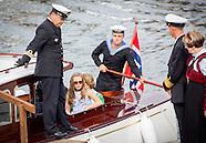 King Harald's Jubileum visit to Trondheim, 23-06-2016