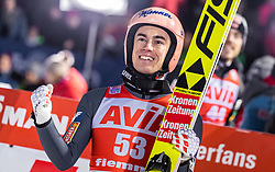 13.01.2019, Stadio del Salto, Predazzo, ITA, FIS Weltcup Skisprung, Val di Fiemme, Herren, Siegerehrung, im Bild Stefan Kraft (AUT) // Stefan Kraft of Austria during the winner Ceremony for the Four Hills Tournament of FIS Ski Jumping World Cup at the Stadio del Salto in Predazzo, Italy on 2019/01/13. EXPA Pictures © 2019, PhotoCredit: EXPA/ JFK