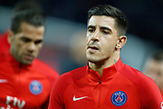 Paris Saint Germain's Spanish defender Yuri Berchiche during the French Championship Ligue 1 football match between Paris Saint-Germain and OGC Nice on October 27, 2017 at the Parc des Princes stadium in Paris, France - Photo Benjamin CREMEL / ProSportsImages / DPPI