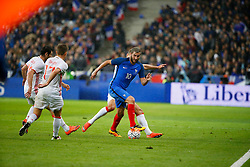 29.03.2016, Stade de France, St. Denis, FRA, Testspiel, Frankreich vs Russland, im Bild gignac andre pierre // during the International Friendly Football Match between France and Russia at the Stade de France in St. Denis, France on 2016/03/29. EXPA Pictures © 2016, PhotoCredit: EXPA/ Pressesports/ Sebastian Boue<br /> <br /> *****ATTENTION - for AUT, SLO, CRO, SRB, BIH, MAZ, POL only*****