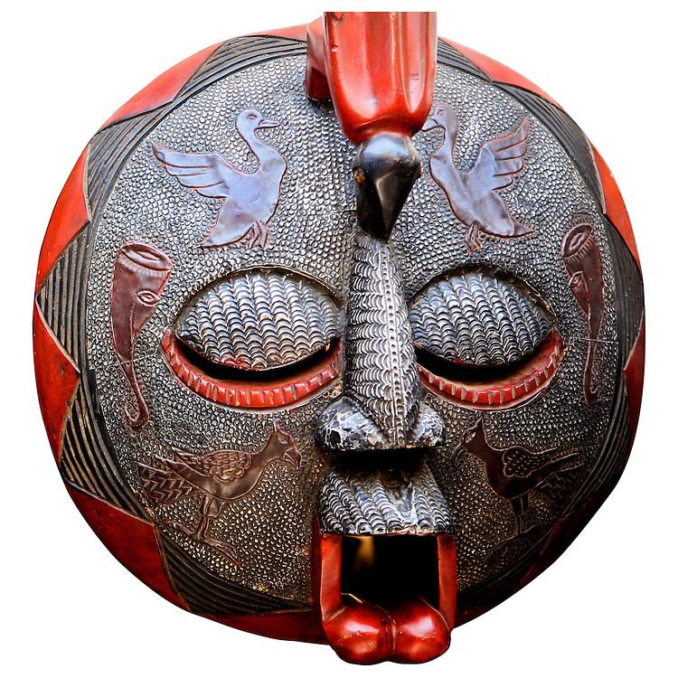 African Art Mask from Ghana