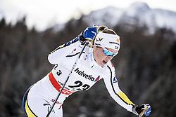 January 1, 2018 - Stockholm, Sweden - Maria Nordström. 10 km fristil, damer och 15 km fristil herrar. Tour de Ski, Lenzerheide (Credit Image: © Orre Pontus/Aftonbladet/IBL via ZUMA Wire)