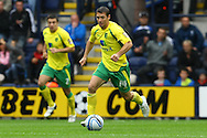 Preston - Saturday September 18th, 2010: Wes Hoolahan of Norwich in action during the Npower Championship match at Deepdale, Preston. (Pic by Paul Chesterton/Focus Images)