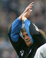 Photo: Paul Thomas.<br /> Preston North End v Birmingham City. Coca Cola Championship. 06/05/2007.<br /> <br /> Dejected manager Steve Bruce of Birmngham.