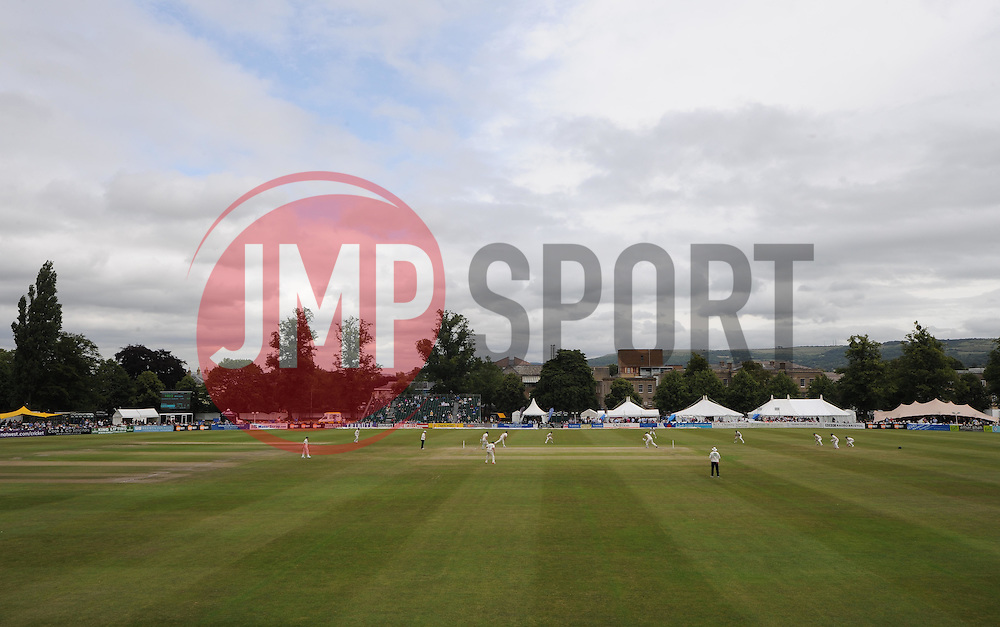 View inside Cheltenham College as play gets under way.   - Photo mandatory by-line: Alex James/JMP - Mobile: 07966 386802 - 17/07/2015 - SPORT - Cricket - Cheltenham - Cheltenham College - Gloucestershire v Leicestershire - LV=County Championship Division 2