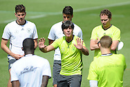 Joachim Low, head coach of Germany, addresses his players during training at Stadio Communale, Ascona<br /> Picture by EXPA Pictures/Focus Images Ltd 07814482222<br /> 26/05/2016<br /> ***UK &amp; IRELAND ONLY***<br /> EXPA-EIB-160526-0075.jpg