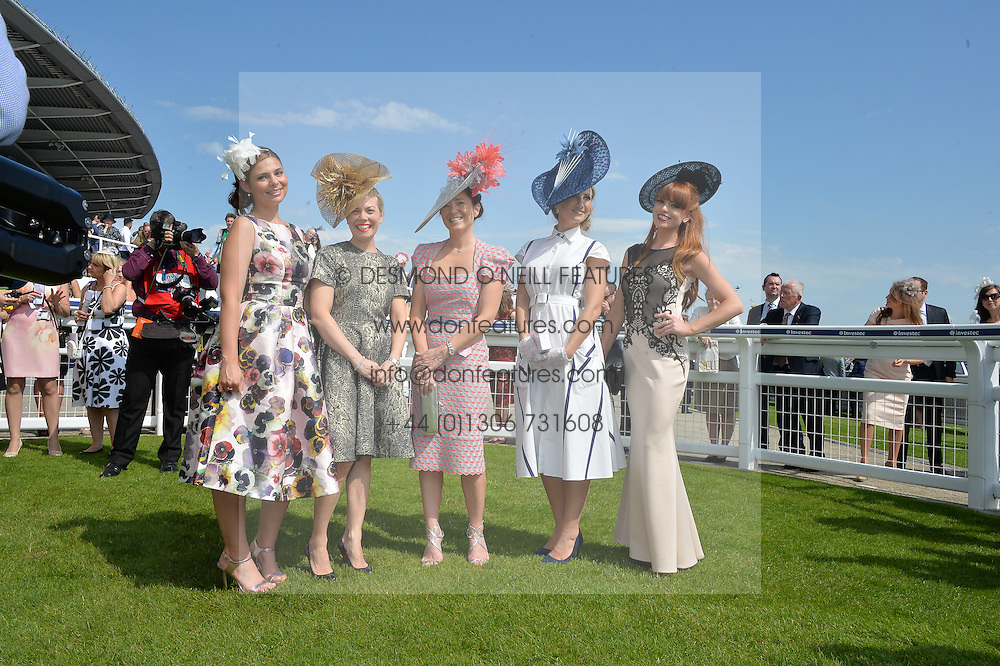Best Dressed Finalist at the Investec Ladies Day at the Investec Derby Festival 2015 at Epsom Racecourse, Epsom, Surrey on 5th June 2015.