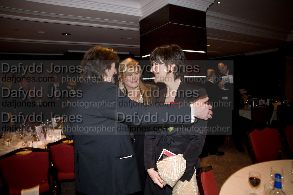 Trevor Nunn; Imogen Stubbs; Harriet Walter, The Costa Book of the Year Award at the Costa Book Awards. The Intercontinental Hotel, Hamilton Place. London. 27 January 2009 *** Local Caption *** -DO NOT ARCHIVE -Copyright Photograph by Dafydd Jones. 248 Clapham Rd. London SW9 0PZ. Tel 0207 820 0771. www.dafjones.com<br /> Trevor Nunn; Imogen Stubbs; Harriet Walter, The Costa Book of the Year Award at the Costa Book Awards. The Intercontinental Hotel, Hamilton Place. London. 27 January 2009