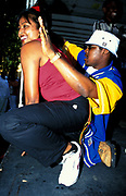 A man and woman grinding, Notting Hill Carnival 2001