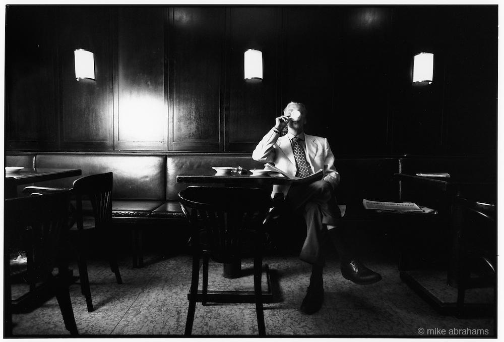 Charles Schuman. Bar owner