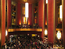 Fans and the Lobby. Furthur Concert at Radio City Music Hall New York 24 February 2010