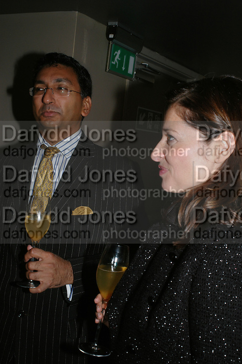 MANGAL KAPOOR AND MOLLY MOYLAM, The launch of ' Cooler, Faster, More Expensive, - the Return of the Sloane Ranger. By Peter York and Olivia Stewart-Liberty. Kitts. 7-12 Sloane sq. London. 15 October 2007. -DO NOT ARCHIVE-© Copyright Photograph by Dafydd Jones. 248 Clapham Rd. London SW9 0PZ. Tel 0207 820 0771. www.dafjones.com.