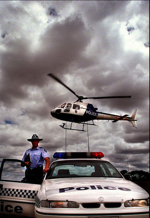 csz981222.001.001.jpg Picture by Craig Sillitoe.   Police helicopter and cars  will be used over the holiday season to time and book speeding motorists. melbourne photographers, commercial photographers, industrial photographers, corporate photographer, architectural photographers, This photograph can be used for non commercial uses with attribution. Credit: Craig Sillitoe Photography / http://www.csillitoe.com<br />