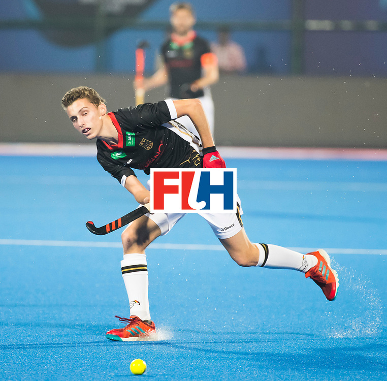 BHUBANESWAR - The Odisha Men's Hockey World League Final . Match ID 05 . Germany  v Australia . Johannes Grosse (Ger).  WORLDSPORTPICS COPYRIGHT  KOEN SUYK