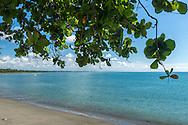 Playa de Puerto Armuelles, distrito de Barú, Provincia de Chiriquí, Panamá.  El Muelle Fiscal fue por muchas décadas uno de los principales puertos de Panamá para la exportación de banano.