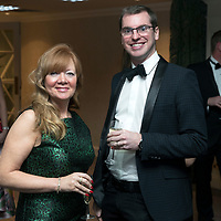 Perthshire Chamber of Commerce Business Star Awards 2017…Crieff Hydro Hotel<br />Audrey Laffery and David Rankine<br />Picture by Graeme Hart. <br />Copyright Perthshire Picture Agency<br />Tel: 01738 623350  Mobile: 07990 594431
