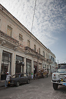 Stunning world heritage architecture of Cienfuegos, Cuba.