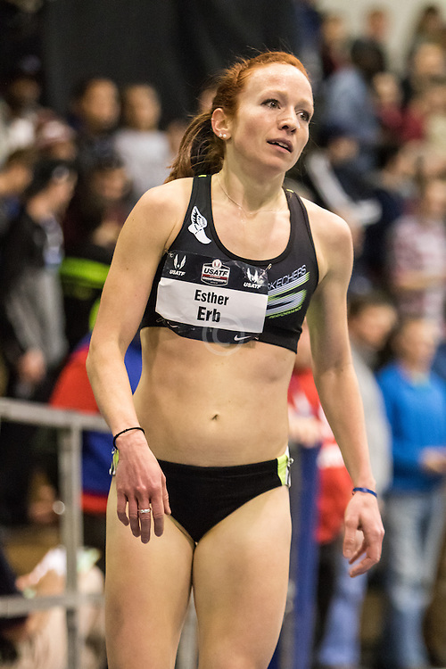 USATF Indoor Track & Field Championships: womens two mile, Esther Erb