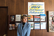 Daiva Kamberos, owner of Kamberos Insurance on Kedzie Avenue.