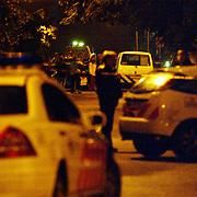 Dodelijke schietpartij koninginneweg 5 Hilversum, afzetting politie