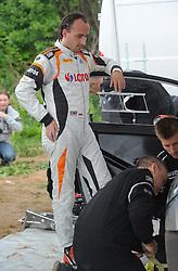 30.06.2015, Pasym, POL, FIA, WRC, Ralley Polen, Training, im Bild ROBERT KUBICA I PILOT MACIEJ SZCZEPANIAK TESTUJA FORDA FIESTE WRC NA WARMINSKICH SZUTRACH NA ZDJECIU ROBERT KUBICA Z MECHANIKAMI // during a trainingssession of FIA, WRC Poland Ralley at Pasym, Poland on 2015/06/30. EXPA Pictures © 2015, PhotoCredit: EXPA/ Newspix/ Bogdan Hrywniak<br /> <br /> *****ATTENTION - for AUT, SLO, CRO, SRB, BIH, MAZ, TUR, SUI, SWE only*****