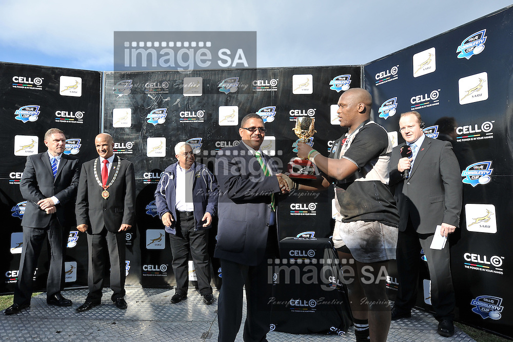 GEORGE, SOUTH AFRICA - Monday 1 April 2013, during the Cell C Community Cup finals held at Outeniqua Park, George in the Western Cape..Photo by Luigi Bennett/ ImageSA
