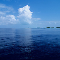 Republic of Palau, reflective ocean