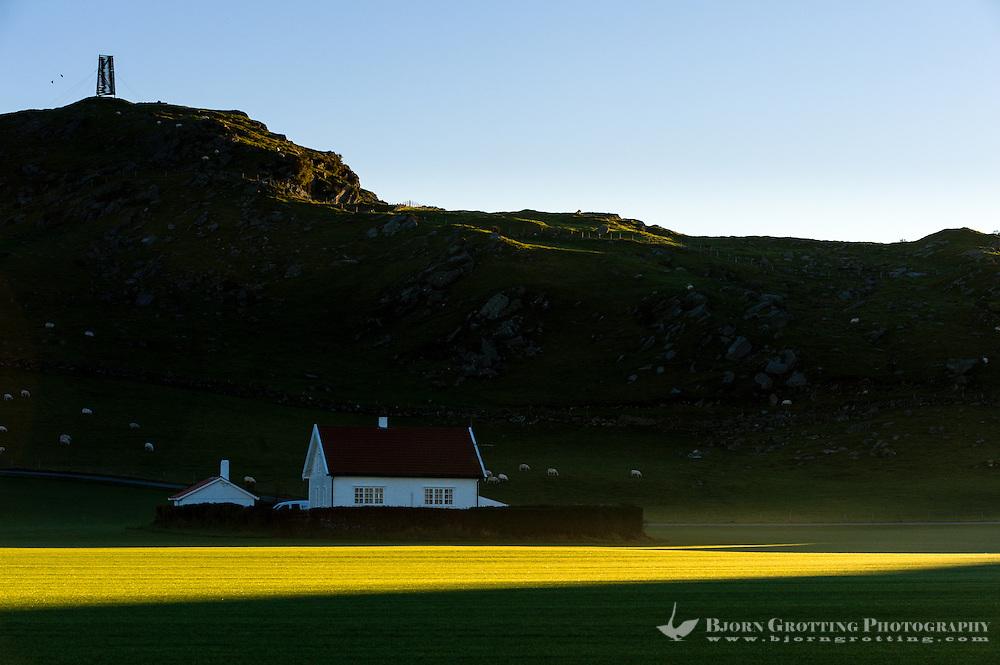 Norway, Sola. Sunrise.