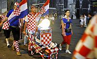 GEPA-2006087386 - WIEN,AUSTRIA,20.JUN.08 - FUSSBALL - UEFA Europameisterschaft, EURO 2008, Host City Fan Zone, Fanmeile, Fan Meile, Public Viewing. Bild zeigt Kroatien-Fans.<br />Foto: GEPA pictures/ Reinhard Mueller