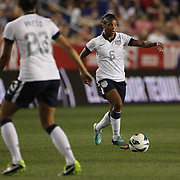 Crystal Dunn, USA, in action during the U.S. Women Vs Korea Republic friendly soccer match at Red Bull Arena, Harrison, New Jersey. USA. 20th June 2013. Photo Tim Clayton