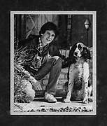 Keith Crowley and his first Springer spaniel, Briar, ca. 1979. Photo courtesy Keith Crowley