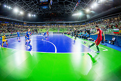 Arena Stozice during futsal match between Portugal and Azerbaijan in Quaterfinals of UEFA Futsal EURO 2018, on February 6, 2018 in Arena Stozice, Ljubljana, Slovenia. Photo by Ziga Zupan / Sportida