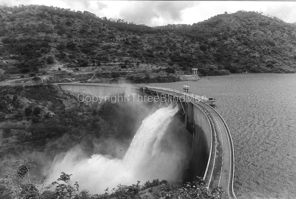 The Victoria Dam near Kandy is one of the largest Hydro Electric schemes in the country.