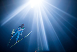 06.01.2015, Paul Ausserleitner Schanze, Bischofshofen, AUT, FIS Ski Sprung Weltcup, 63. Vierschanzentournee, Finale, im Bild Elias Tollinger (AUT) // Elias Tollinger of Austria during Final Jump of 63rd Four Hills <br /> Tournament of FIS Ski Jumping World Cup at the Paul Ausserleitner Schanze, Bischofshofen, Austria on 2015/01/06. EXPA Pictures &copy; 2015, PhotoCredit: EXPA/ JFK