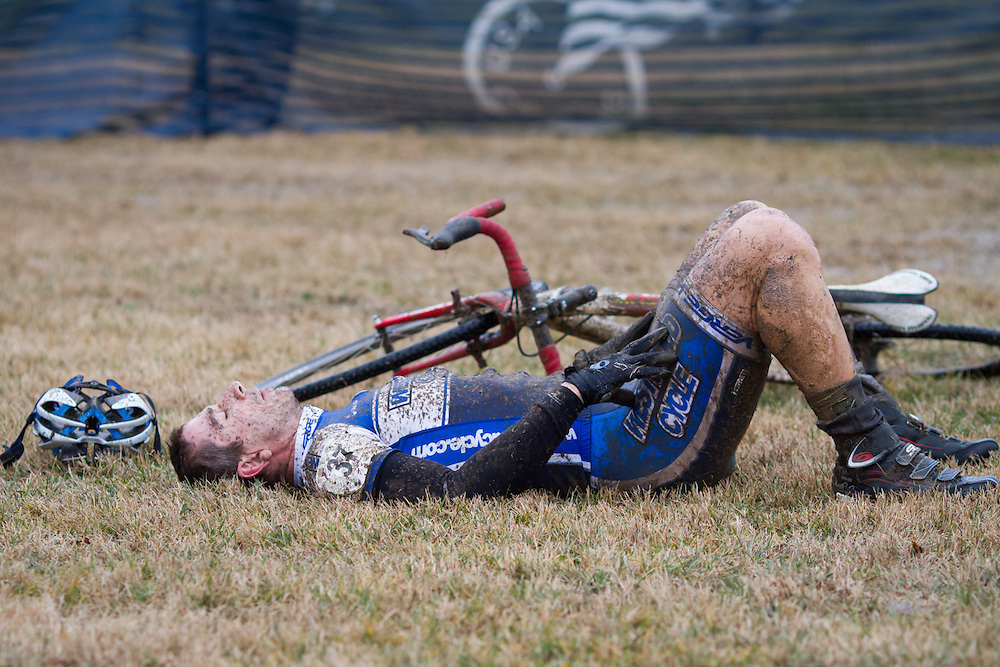 Cristopher Tarnowski (Westwood Velo) post race.  ©Brian Nelson