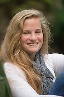 Shannon senior portrait session.  ©2015 Karen Bobotas Photographer