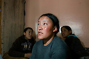 Tibetan refugees in Dharmasala, India. .NOT FOR COMMERCIAL USE UNLESS PRIOR AGREED WITH PHOTOGRAPHER. (Contact Christina Sjogren at email address : cs@christinasjogren.com )